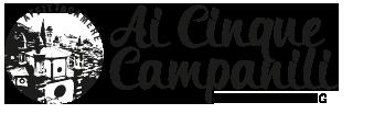 """Affittacamere """"Ai Cinque Campanili"""" Logo"""